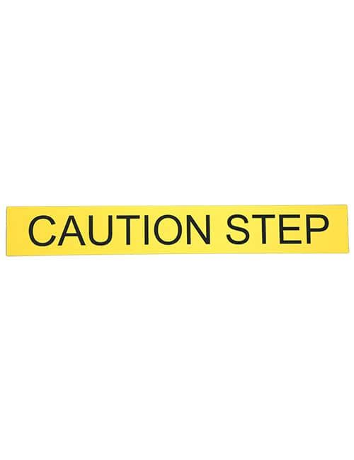 Caution Step Sign