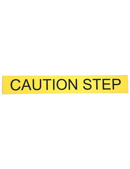 Caution Step Sign