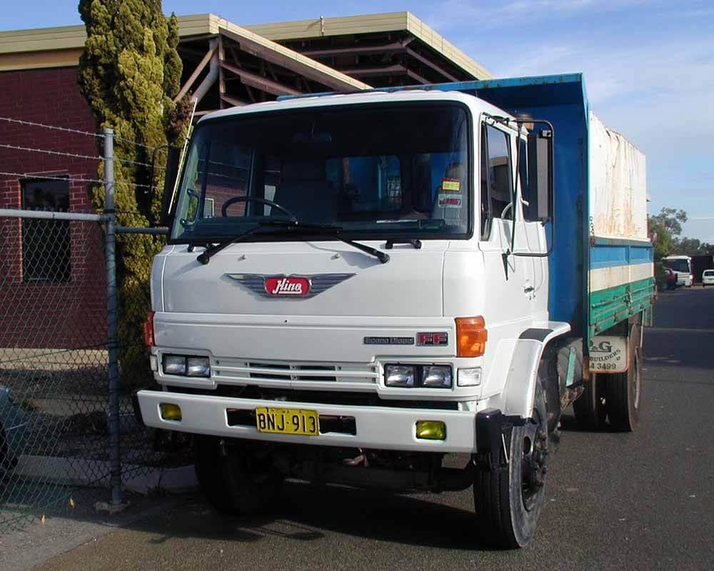 Hino Truck Refurb 2