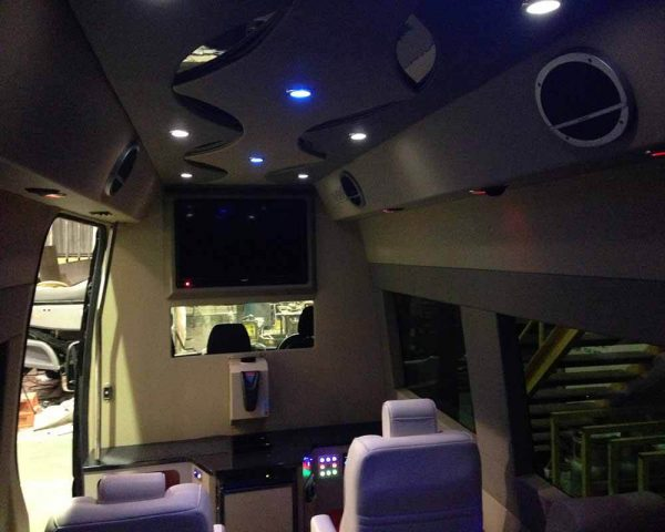Mercedes Limo Conversion 19