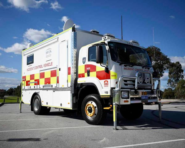 Incident Control Vehicle DEFS 1