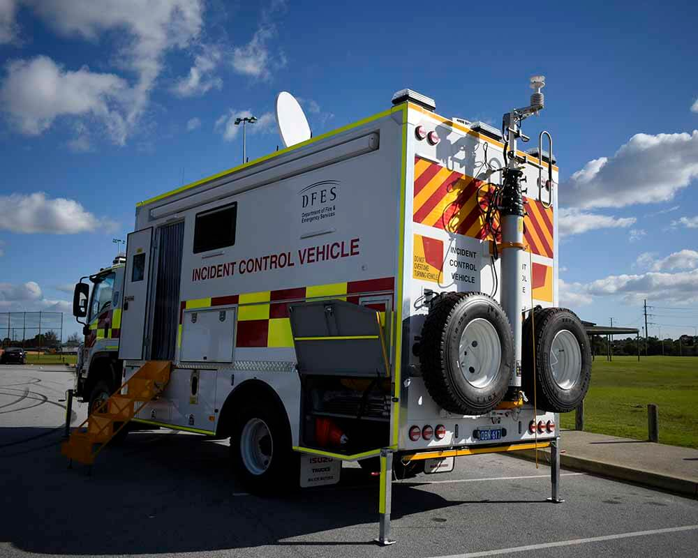 Incident Control Vehicle DEFS 3