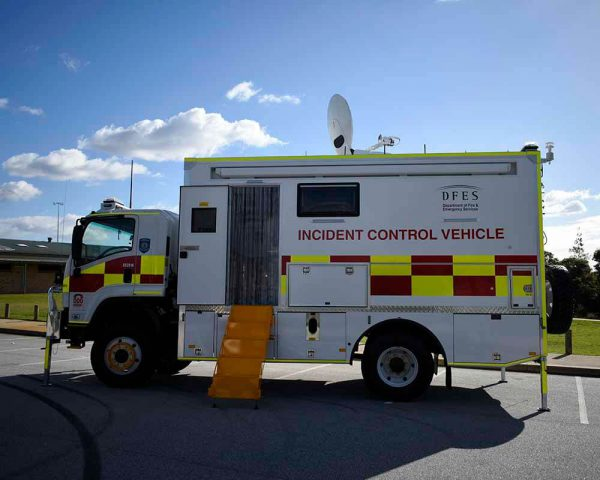 Incident Control Vehicle DEFS 4