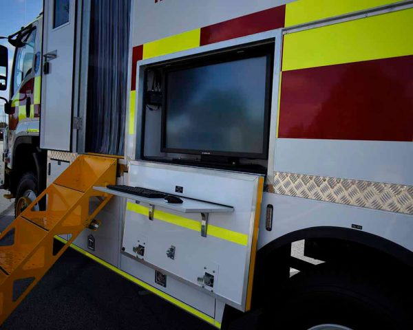 Incident Control Vehicle DEFS 5