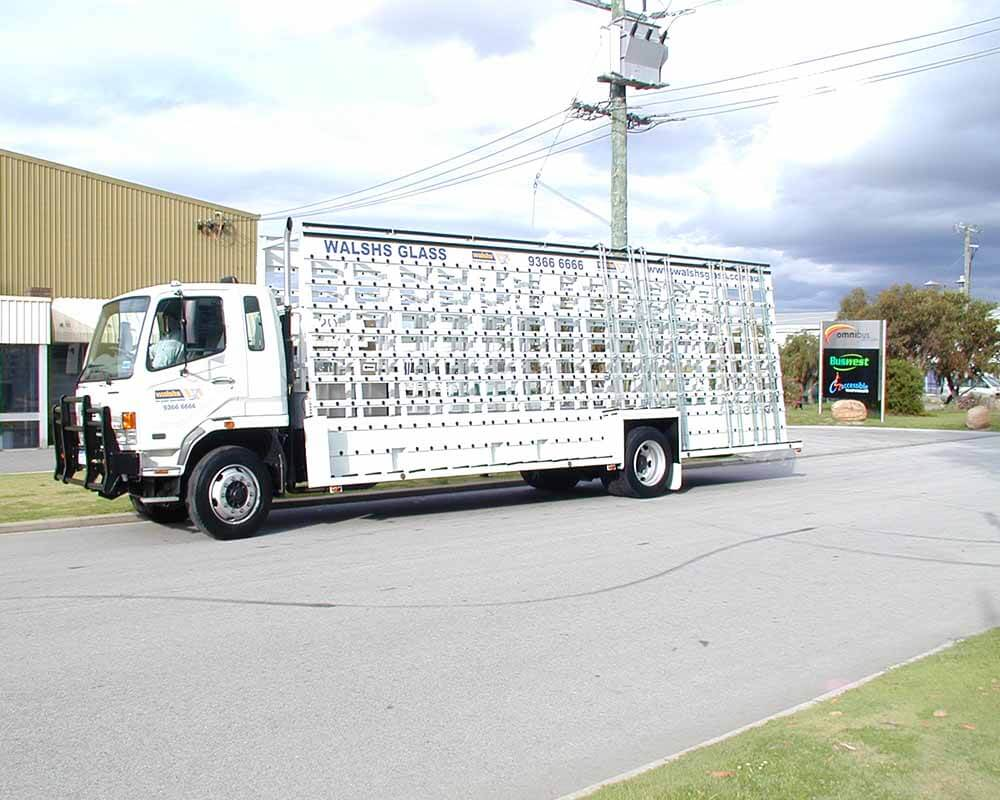 Large Glass Truck