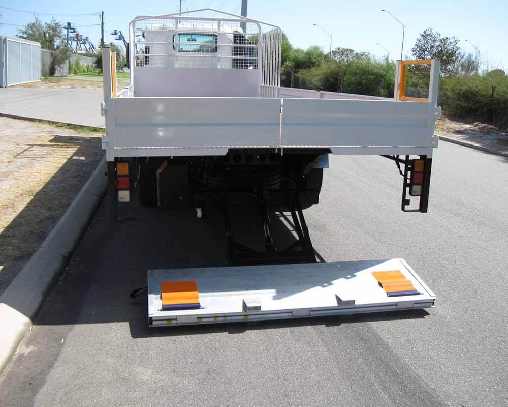 Light Truck Tail Lifter Install 3
