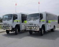 mining 4wd bus
