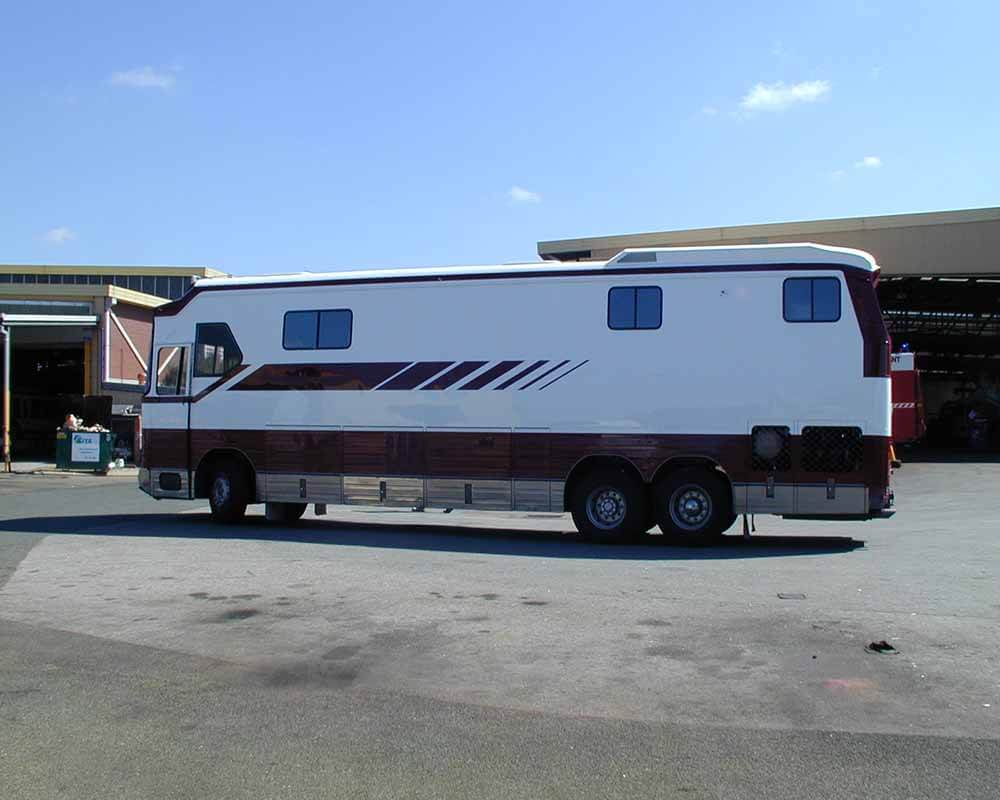 Motor Home Re-Spray 2