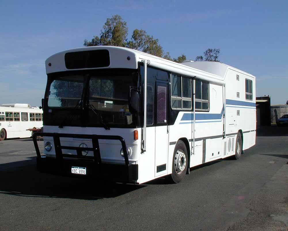 Old Transperth Bus to Camper Conversion 1