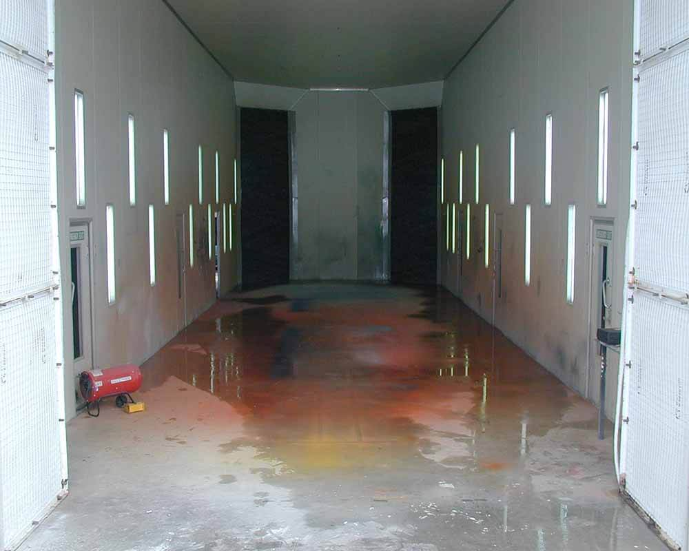 Omnibus 21 Meter Spray Booth