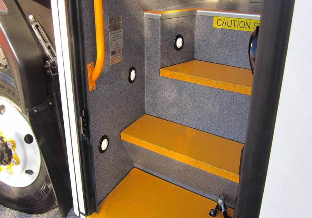 T Series Non Slip Safety Steps