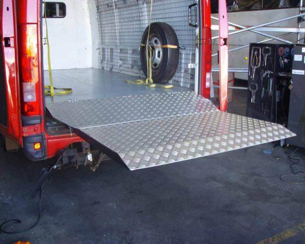 Van Tail Lift Installation 2