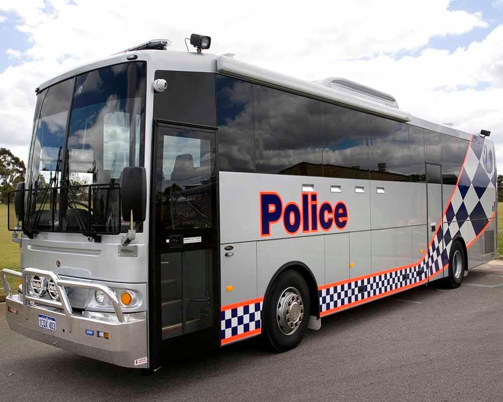 WA police Scania