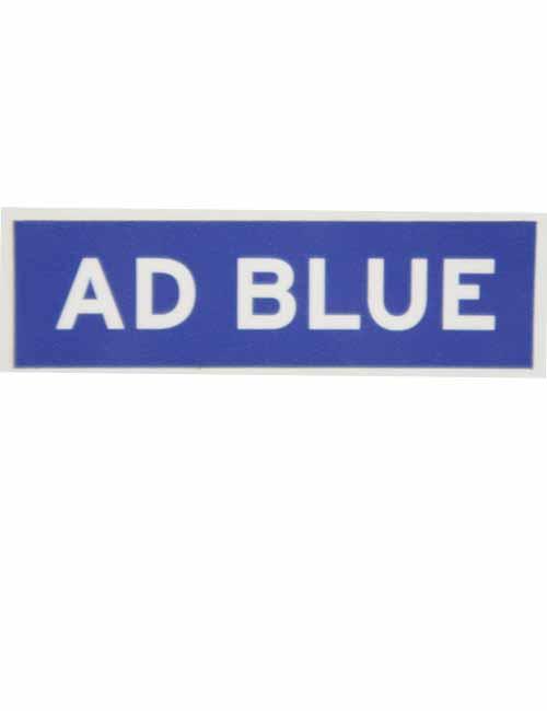 Add Blue decal