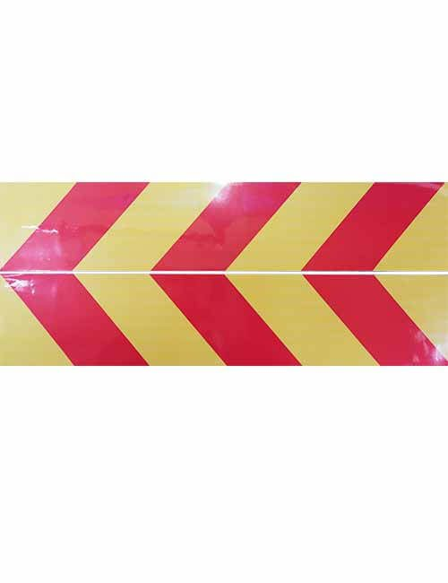 Chevron Rear Bumper RH decal