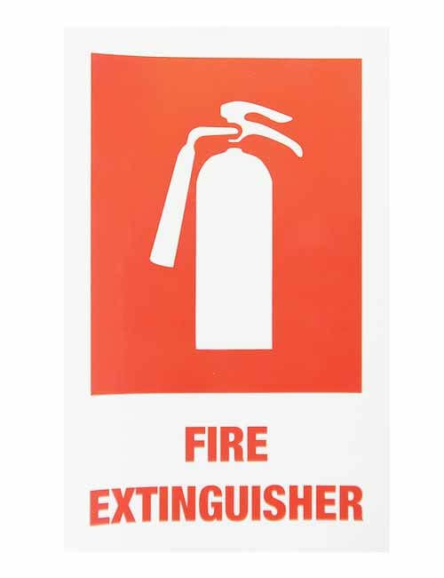 Fire Extinguisher decal