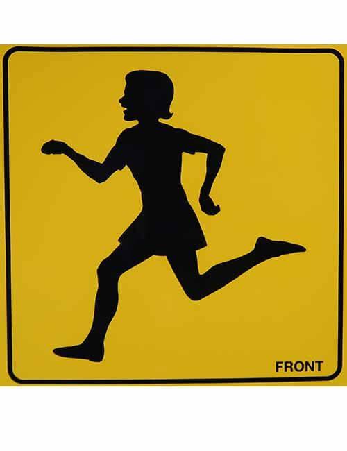 Running Girl Front