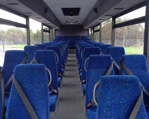 WA School Bus Interior without Parcel Racks