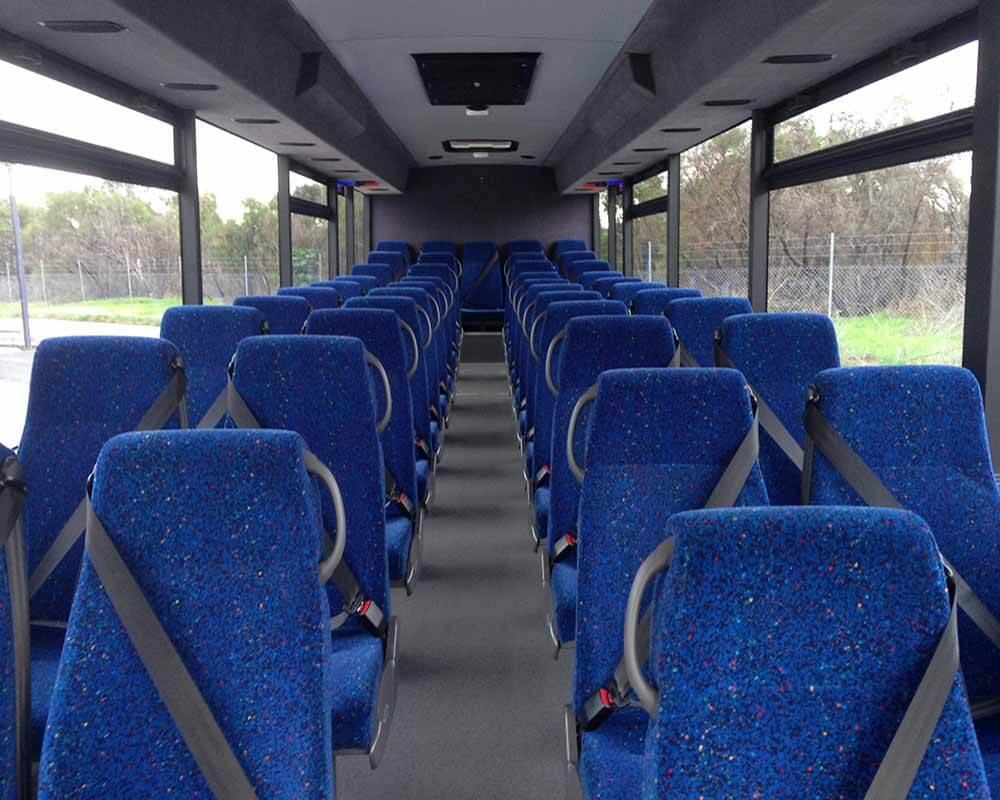 WA School Bus Interior without Parcel Racks