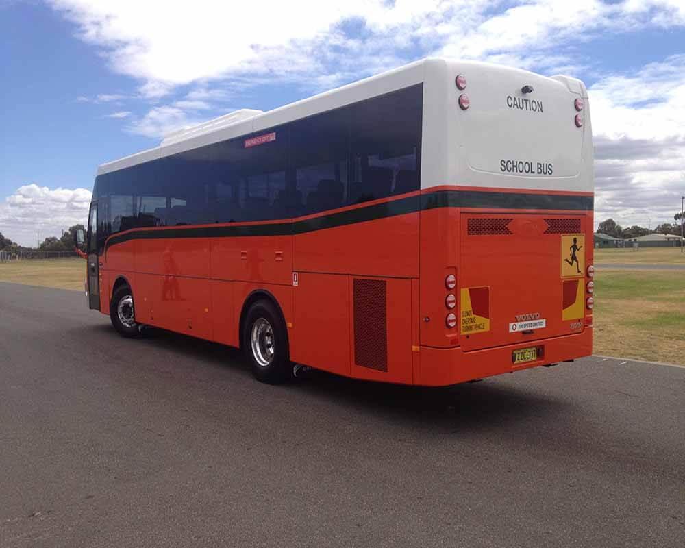 WA School Bus Rear