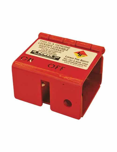 Isolator Locking Bracket Red
