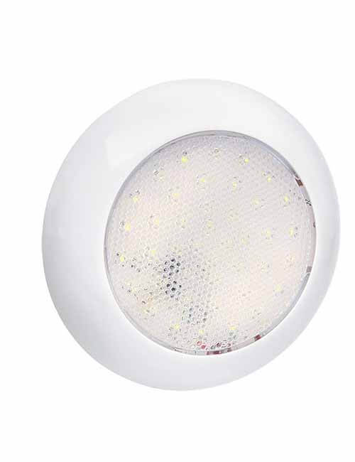 Lamp Interior LED Round 9-33V WH