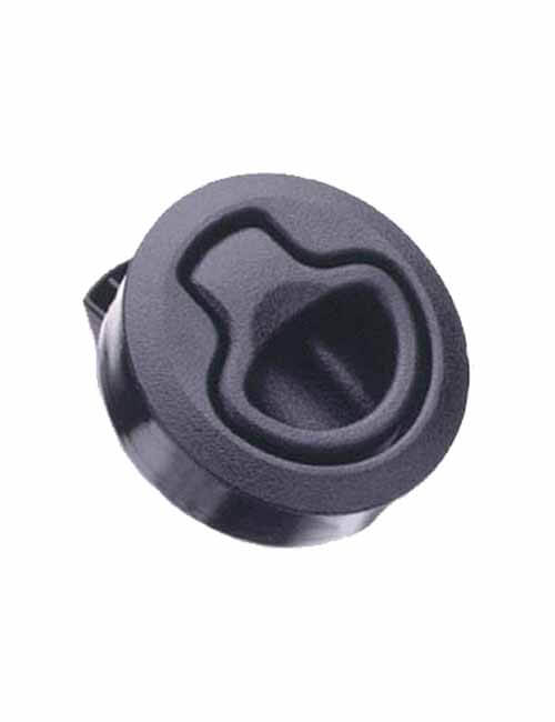 Latch Flush Pull-Non Locking-Black