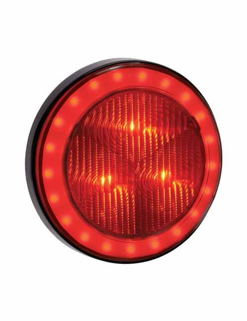 Narva Rear Lamp LED Red