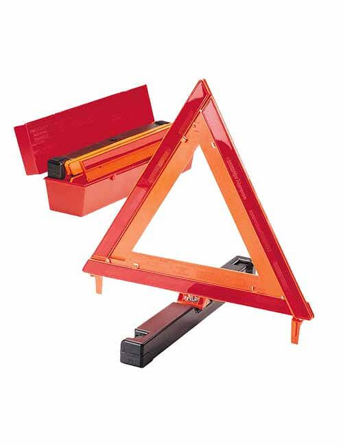 Triangle Reflector Red 440mm-3pce