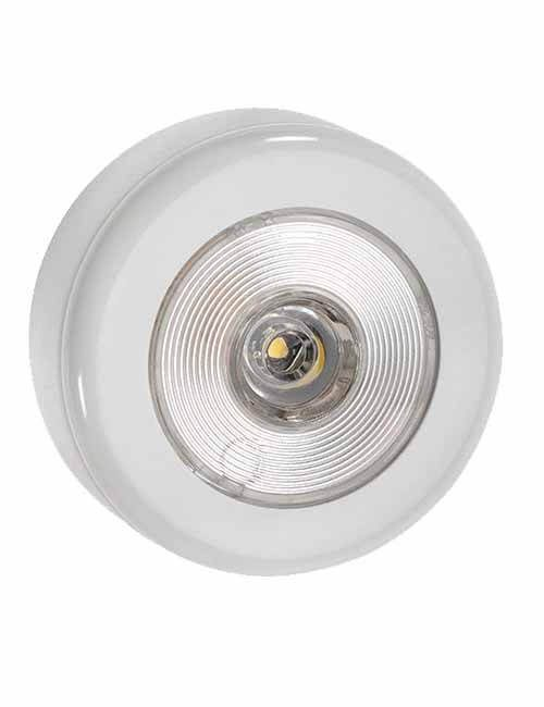 Step Light 10-30V LED White Faceplate