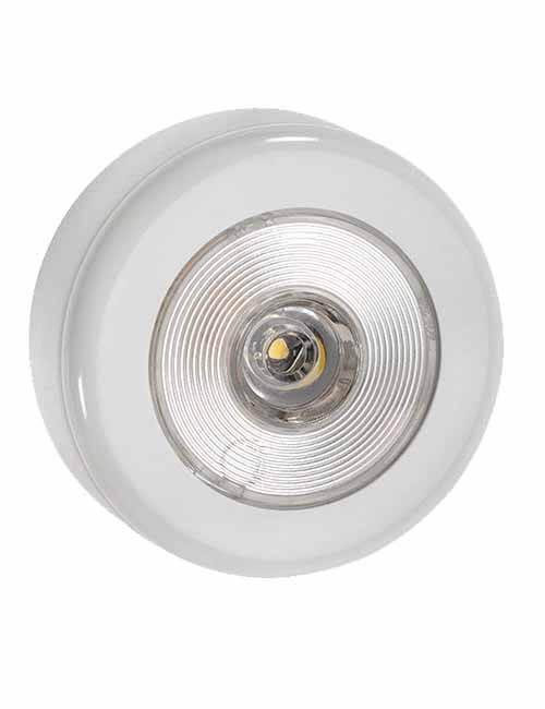 Step Light 10-30V LED White Faceplate