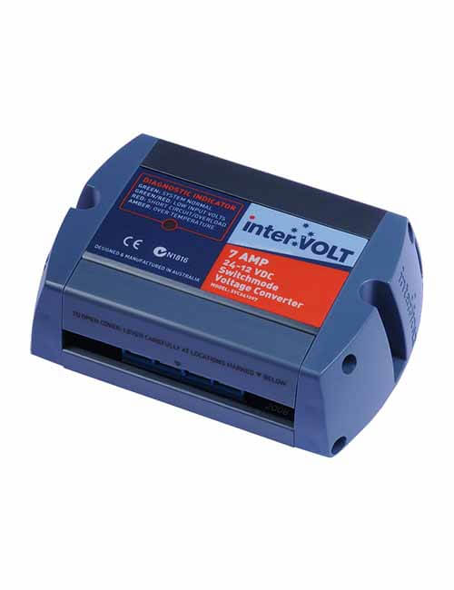 Voltage Converter 24-12 DC 7 AMP