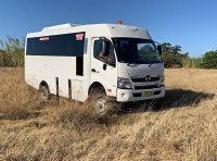 Hino 300 4WD Bus & Motorhome Platform
